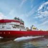 Новый трубоукладчик серии Sapura спущен на воду в Голландии