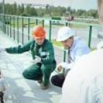 Министр энергетики Подмосковья посетил крупнейшую ГНС региона