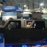 США продемонстрировали бронеавтомобиль Hellhound с электрогенератором для лазера