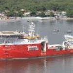 Fugro построила в Бразилии новейшее судно для глубоководных работ