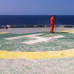 Aerolaser Helipad решит проблему гуано на шельфовых платформах