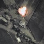 Самолет ВКС РФ произвел удар по нефтеперерабатывающему заводу в Сирии