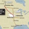 Штат Небраска получил заявку от TransCanada о маршруте нефтепровода Keystone