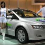 Китай выпустит новый электромобиль в 2016 году, а гибрид – в 2017-м