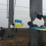 """Подать немного электричества в Крым Украине помешал """"Правый сектор"""""""