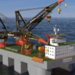 Самый большой в мире плавучий кран с СПГ-двигателями построят в Сингапуре