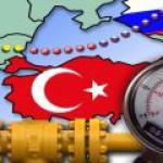 """Турция планирует договориться с """"Газпромом"""" о смягчении условия поставок газа"""