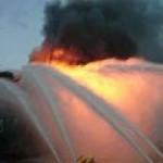 Пожар на комплексе Гюнешли потушить не удается