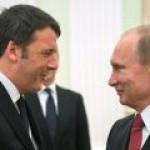 """La Stampa: Путин обрабатывает итальянского премьера по поводу """"Северного потока-2"""""""