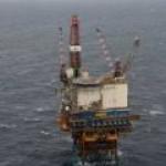 Новая авария на старой платформе в британском Северном море