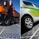 Уникальная система получает чистую энергию от проезда авто