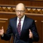 Яценюк перед мнимой отставкой огласил сумму исков Украины к «Газпрому»