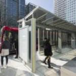 В Лондоне оборудована генерирующая энергию автобусная остановка