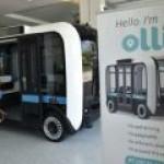 """В США """"напечатали"""" 3D электромобиль Olli"""