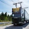 """В Швеции тестируют элетротрассу для грузовых """"троллейбусов"""""""