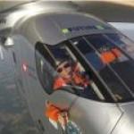 """Очередной полет """"солнечного"""" самолета Solar Impulse-2 отложили из-за ливней"""