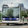 """Mercedes-Benz интегрировал """"автобус будущего"""" в городскую инфраструктуру"""