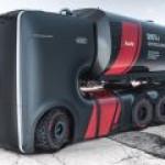 Дизайнеры разработали для Audi нефтевоз будущего