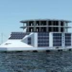 Во Франции хотят построить плавучую солнечную электростанцию