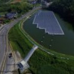 В Японии запущена первая плавучая солнечная электростанция