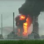 Shell из-за пожара приостановила работу второго за 10 дней НПЗ