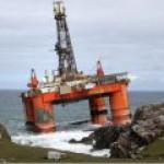 """С платформы Transocean Winner """"потерялось"""" 56 тыс литров дизельного топлива"""