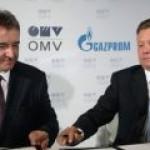 """Назван окончательный срок обмена активами между OMV и """"Газпромом"""""""