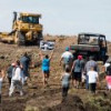 Стройплощадка нефтепровода Dakota Access загорелась, возможен поджог