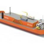 AG&P представила новый сверхмалый СПГ-танкер