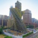 Уникальный эконебоскреб строят в Тайбэе
