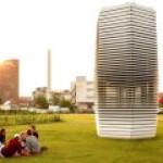 Smog Free Tower извлекает смог из воздуха и создает украшения