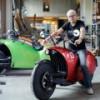 """Этот гигантский """"арахис"""" – инновационный электромотоцикл"""