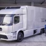 Daimler выпускает в свет первый тяжелый электрогрузовик