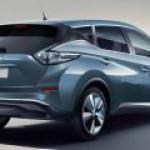 Новый Nissan Leaf стал больше похож на машину, и меньше – на табуретку