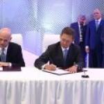 """Газпром"" и Eni подписали меморандум о поставках газа по южному коридору"