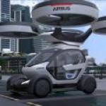 Airbus создала концептуально новый летающий электрокар