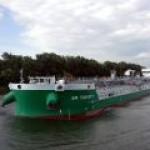 """""""Красное Сормово"""" спустило на воду новый танкер класса """"река-море"""""""