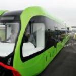 Китай построил первый безрельсовый электропоезд
