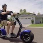 "Phat Scooters выпустила оригинального ""крепыша"" на электротяге"