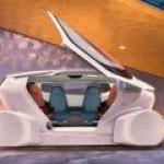 На выставке в Шанхае продемонстрирован беспилотный электромобиль-офис