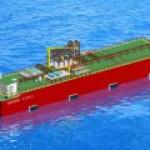 Одобрена концепция первой в мире гигантской FSRU-баржи