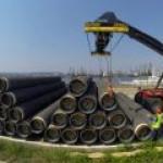 """""""Газпром"""" начнет строить подвод к """"Северному потоку-2"""" на год позже срока"""