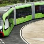 В Китае изобрели новый вид автономного городского транспорта