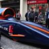 Состоялись испытания первого в мире автомобиля с максимальной скоростью 1000 миль в час