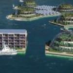 В Тихом океане планируется построить первый в мире плавучий город-сад