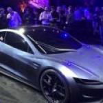 Tesla представила электроспорткар Roadster с рекордной дальностью пробега