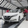 Модернизированный Nissan Leaf будет выпускаться в Европе