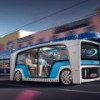 Швейцарская Rinspeed представила футуристический концепт электробуса