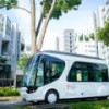Электробус со сверхбыстрой подзарядкой появился в Сингапуре