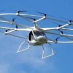Volocopter дебютировал на полях Всемирного правительственного саммита